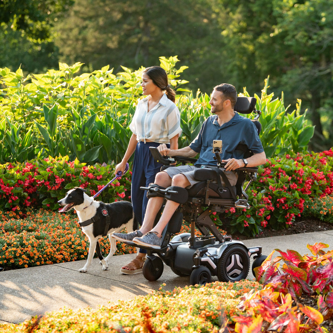 Check-up routines for your powered mobility device
