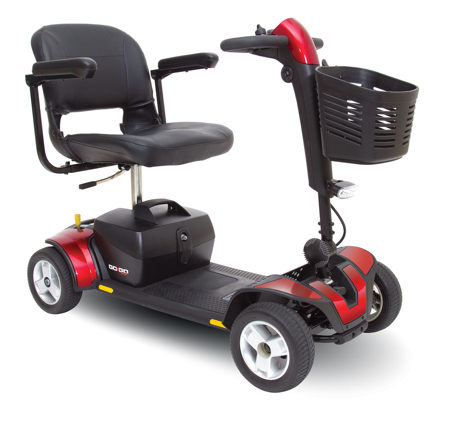 Go-Go Sport Three and Four-Wheel Scooter