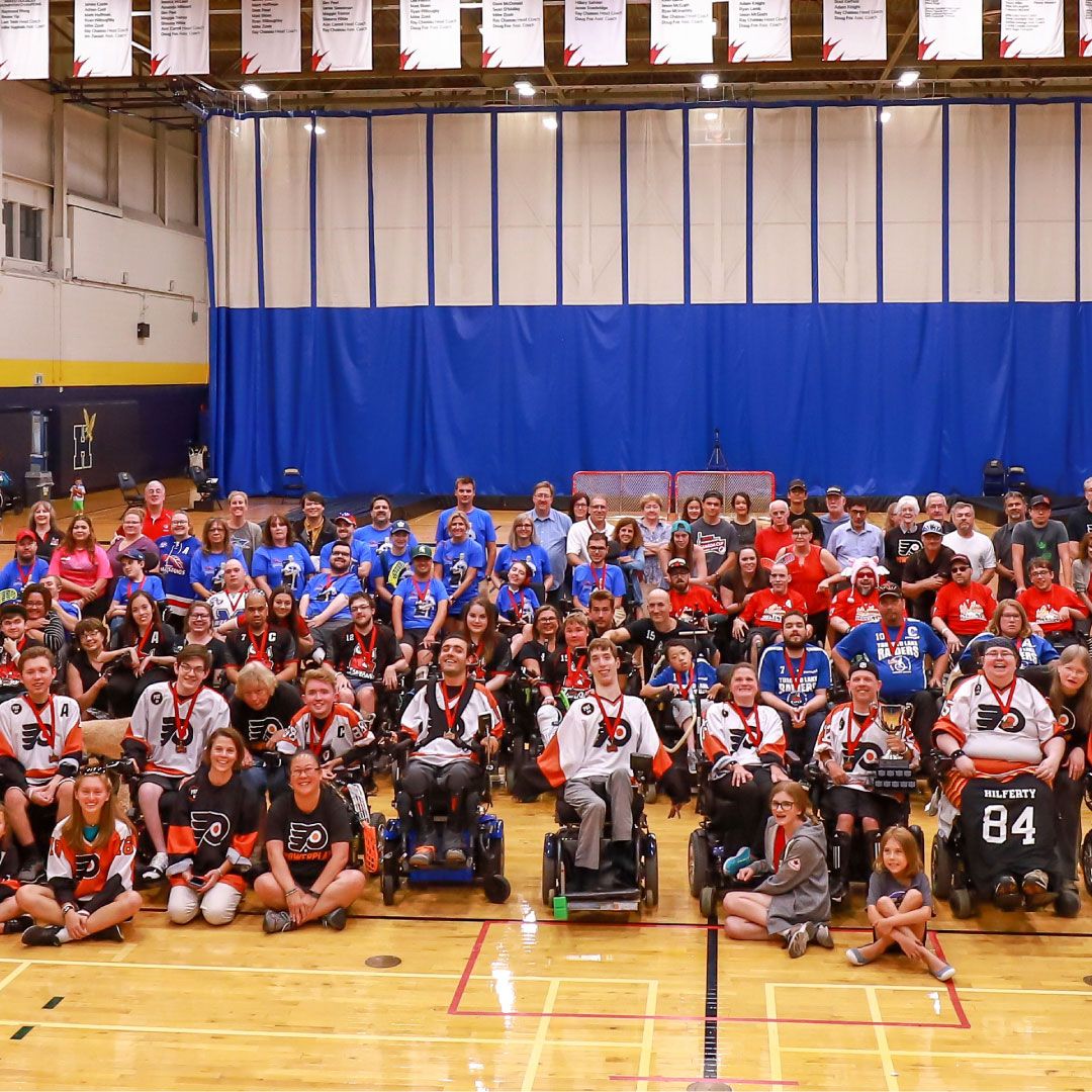 The ultimate goal: Making powerhockey a paralympic sport